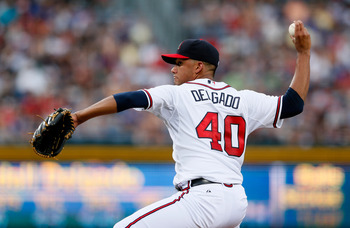 Randall Delgado was part of Atlanta's bevy of young pitching talent.