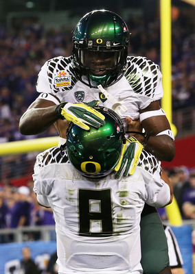 De'Anthony Thomas ans Marcus Mariota