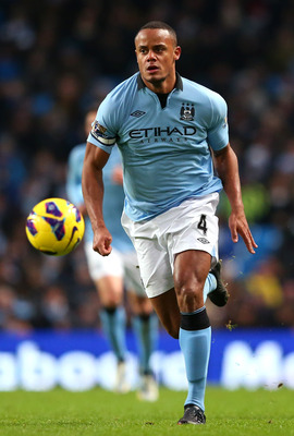 Manchester City captain Vincent Kompany could be out for several weeks.
