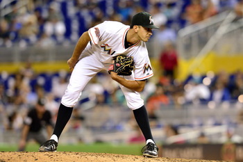 Steve Cishek will return to close for the Miami Marlins in 2013—maybe.