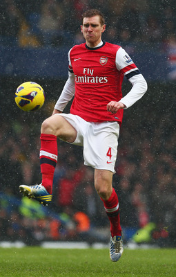 Per Mertesacker will be eager to impress against his countrymen.