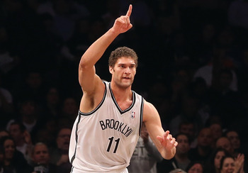 Brook Lopez is also a first-time All-Star. He replaces Rajon Rondo.
