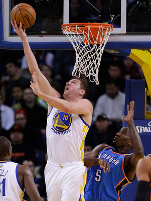 David Lee has been sensational on the boards through the first half of the season.