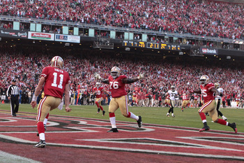 It was Smith's—not Kaepernick's—scramble that lit up Candlestick last year.