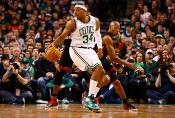 Ray Allen probably knew where Pierce was going