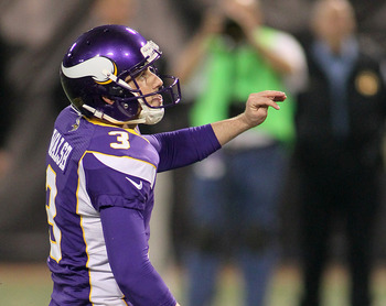 Blair Walsh had quite an impressive first year, making 35 field goals.