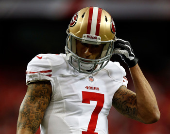 Just like everyone predicted, Colin Kaepernick is leading the 49ers to the Super Bowl.