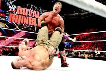 The Royal Rumble event provided the WWE Universe with many highlights. Photo by: WWE