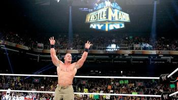 John Cena won his second Royal Rumble in five years. Photo by: WWE