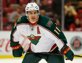 Zach Parise and Minnesota lead the Northwest… for now.