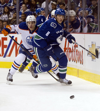 Chris Tanev is taking on more responsibility.