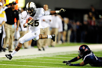 Vanderbilt RB Brian Kimbrow