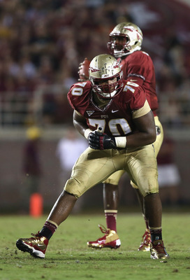Josue Matias is one of the returning interior lineman for FSU