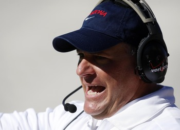 Arizona head coach Rich Rodriguez