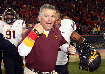 Arizona State head coach Todd Graham