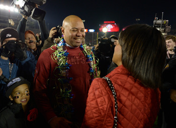 Stanford head coach David Shaw