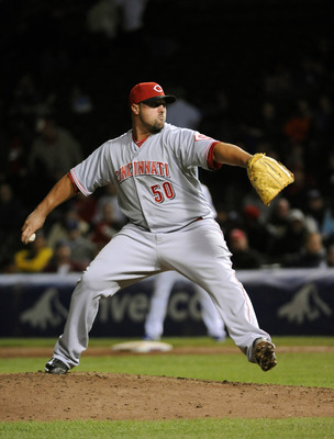 Jonathan Broxton will give the Reds time to see how Chapman performs as a starter.