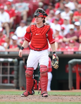 Ryan Hanigan helped lead this staff to a great year, including Homer Bailey's no-hitter.