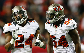 Mark Barron (No. 24) and Lavonte David (No. 54) are the defensive future.