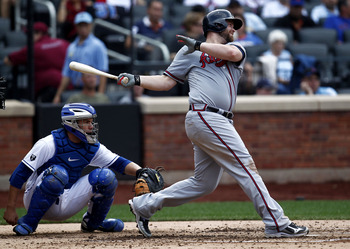 Despite his recent downward slide, Braves catcher Brian McCann should still be a worthwhile option