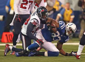 The Texans will try to hold the Colts down in 2013, but can they hold on to their second straight division title?
