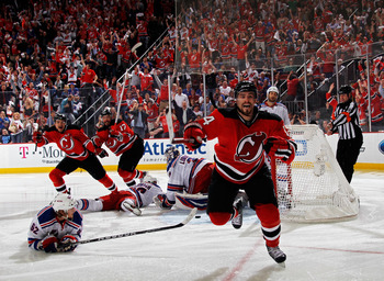 Adam Henrique vaults the Devils into the Stanley Cup Finals.
