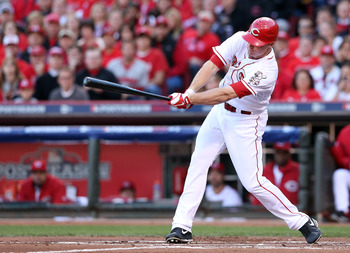 Jay Bruce is streaky, but he puts up solid numbers at the end.