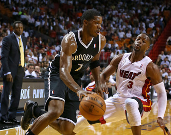 Joe Johnson has been the flop against the Heat this season.