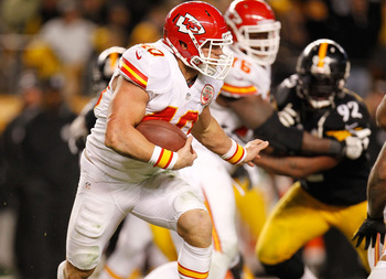 Chiefs RB Peyton Hillis.