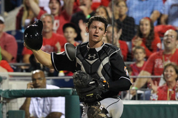 Rob Brantly is one of the few bright spots in Miami.