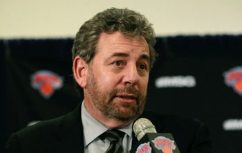 "Knicks owner James Dolan ""looks out for Anthony"""