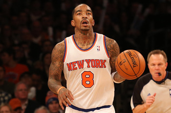 J.R. Smith is comfortable as a sixth man with the Knicks.