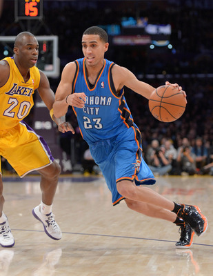 Kevin Martin is feeling at home with Durant and Westbrook.