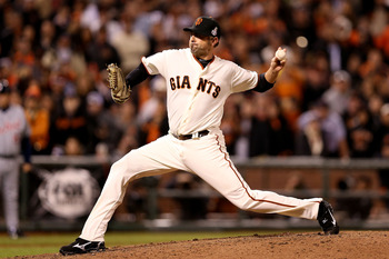 Jeremy Affeldt signed a three-year contract this offseason.