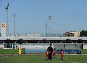 La Masia is the heart of Barcelona's youth academy.