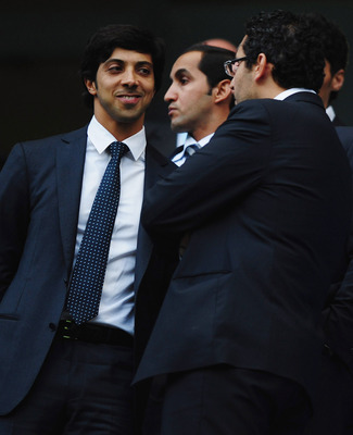 Sheikh Mansour wants to develop academy football at Manchester City.