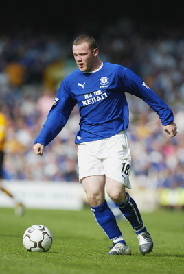 Wayne Rooney is a product of the Everton Academy.