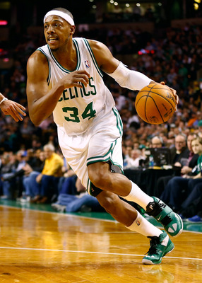 Paul Pierce is still around and has the experience to help this Celtics team in a time of need