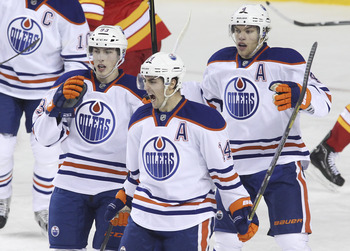 The Oilers cannot afford to lose Hall, Eberle or Nugent-Hopkins due to injury.