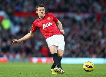 Michael Carrick has been in terrific form for United of late