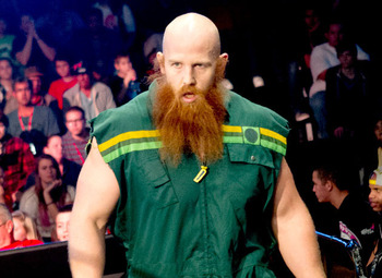 Eric Rowan is doing great work with Bray Wyatt and could be WWE's next big man. Photo Courtesy of WWE.com