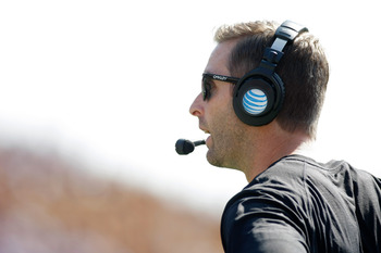 Head coach Kliff Kingsbury