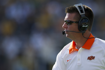 Head coach Mike Gundy