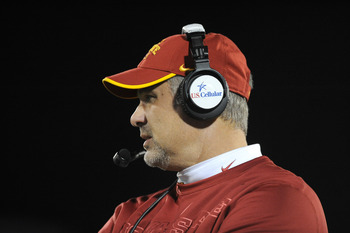 Head coach Paul Rhoads