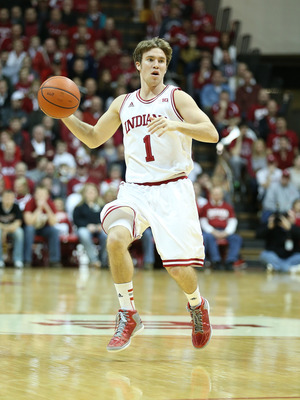 Jordan Hulls is a deadly three-point shooter for Indiana.