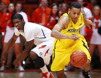 Trey Burke and the Wolverines will need to play well in transition to top the Hoosiers.