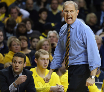 John Beilein's team has stayed out of foul trouble in just about every game this season.