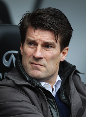 Michael Laudrup's first season at Swansea City has seen his stock rise.