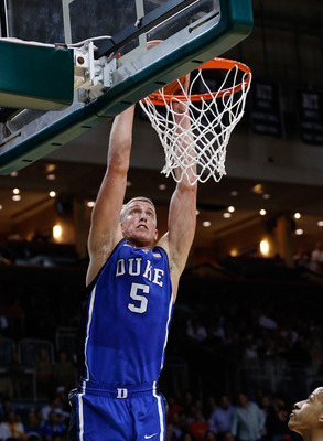 Mason Plumlee leads Duke with 18.1 points per game.