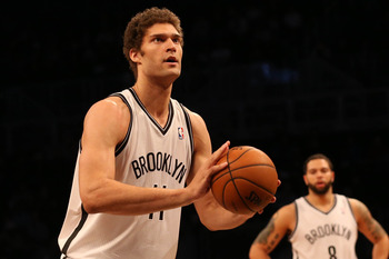 Brooklyn Nets' Brook Lopez
